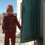 Apprehensive Kyrgyz Girl - Pamir Mountains, Tajikistan