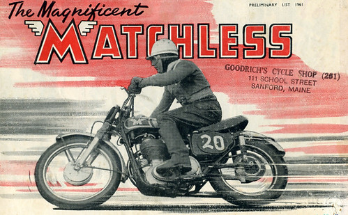 Matchless 1961 brochure