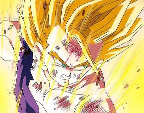 Dragon Ball z Angry Super Saiyan Gohan Super Saiyan 2 Angry