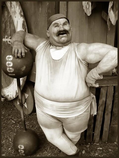 Vintage Strong Man 68