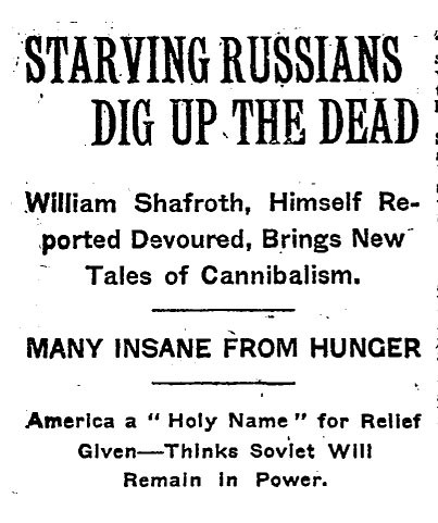 starving Russians