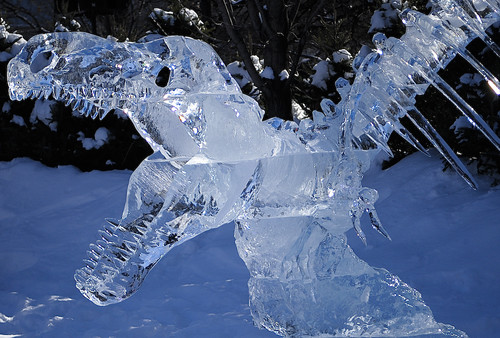 Ice Dinosaur