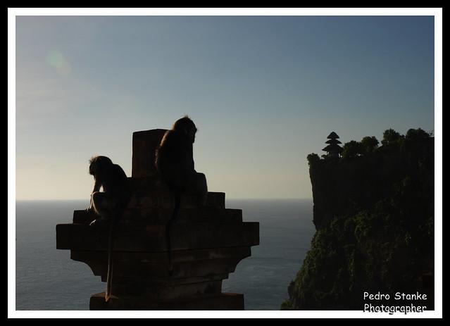 A sombra de dois olhares... - Bali, Indonesia