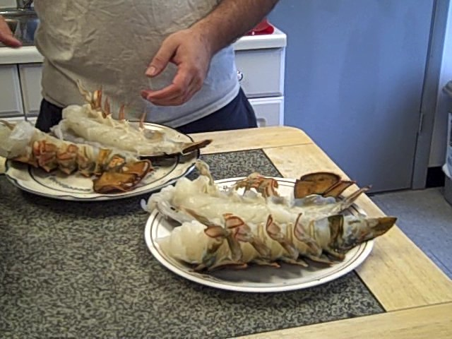 Giant 20-24 oz Maine Lobster Tails from Lobster Gram ...