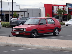automobile, automotive exterior, volkswagen, vehicle, volkswagen golf mk2, city car, land vehicle, hatchback,