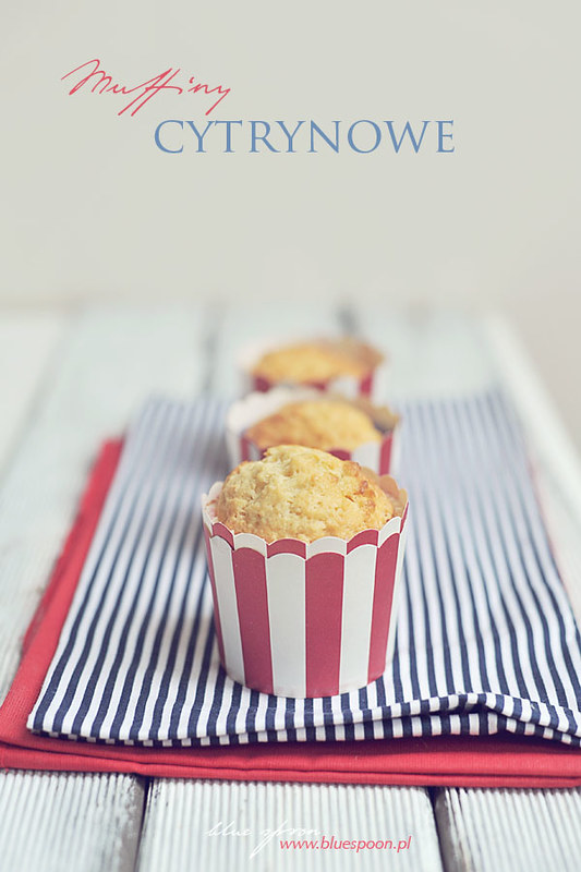 muffinki cytrynowe - przepis