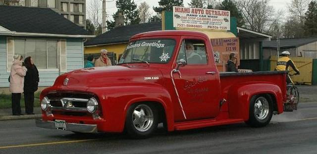 1950s Ford V8 pickup