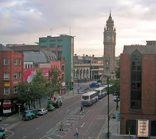 Albert Clock and High Street, Belfast