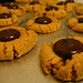 vegan peanut butter blossoms