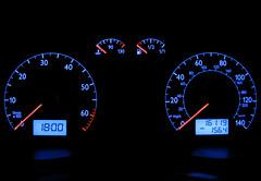 odometer, gauge, font, speedometer, tachometer,