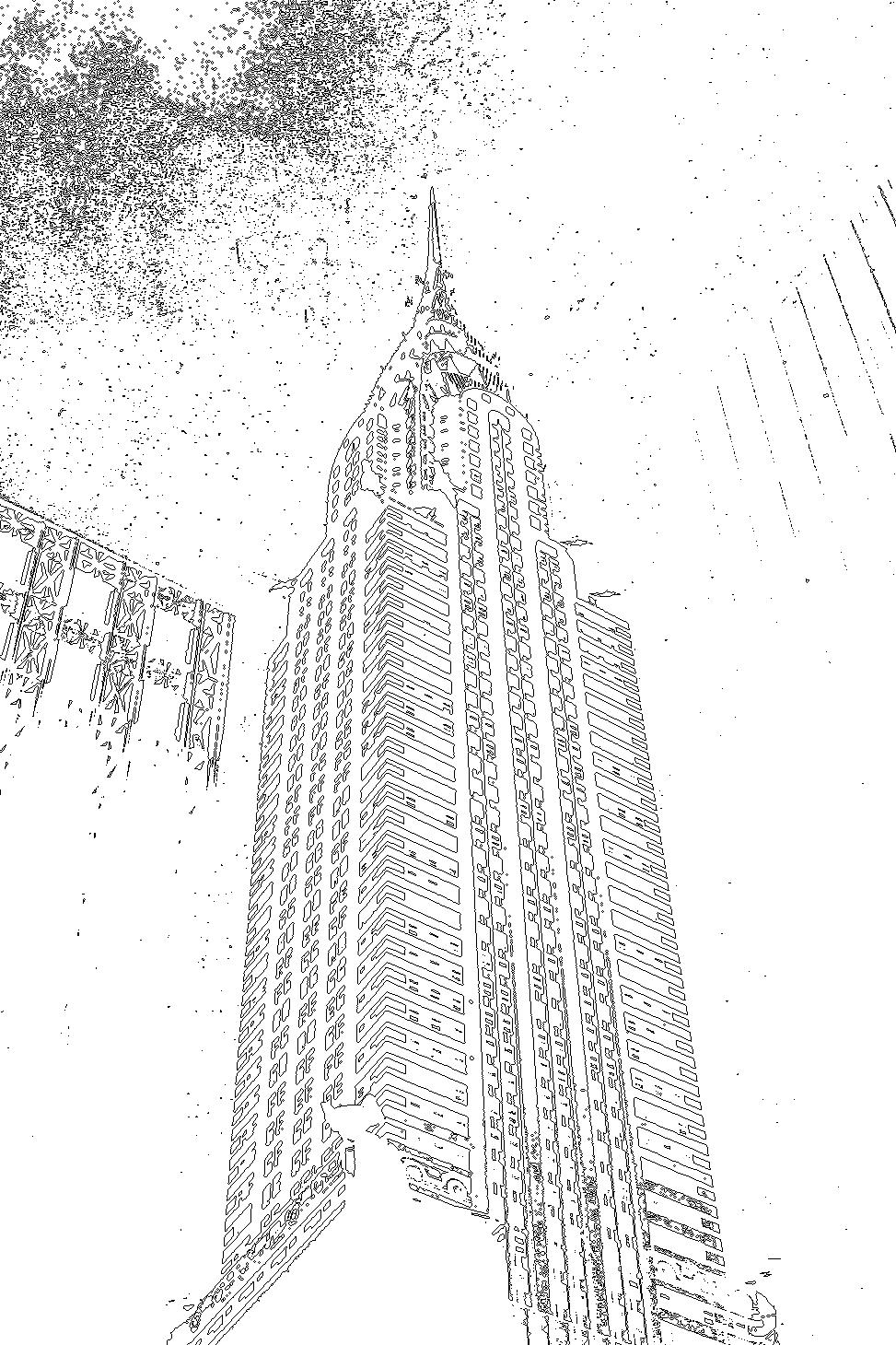 Empire state building zum ausmalen zum ausmalen de hellokids com - Empire State Building Sketch Tumblr Info