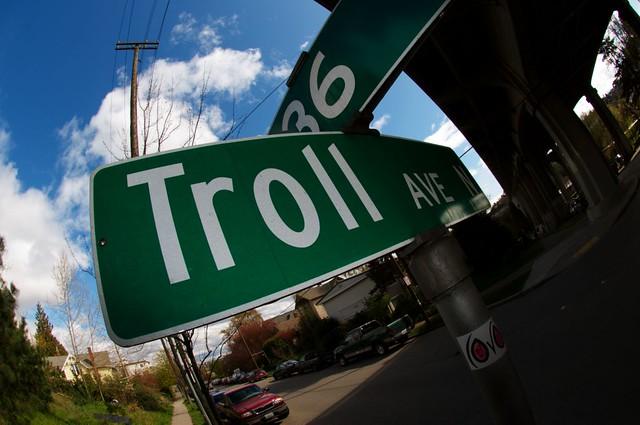 online community troll