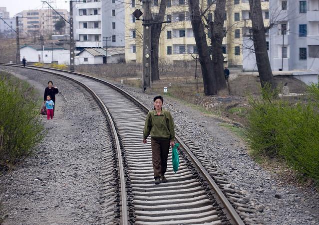 The safest railways in the world - North Korea