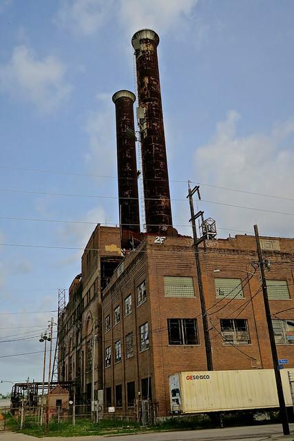 Abandoned Power Plant, New Orleans, LA