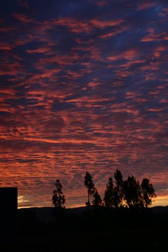 Beautiful sky, Valparaiso, Chile