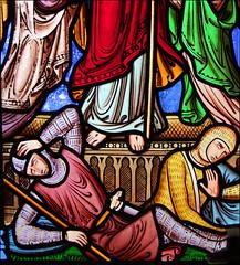 asleep at the resurrection