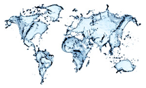 World Map Water.Blue Water Splash World Map Isolated Blue Water Splash Flickr