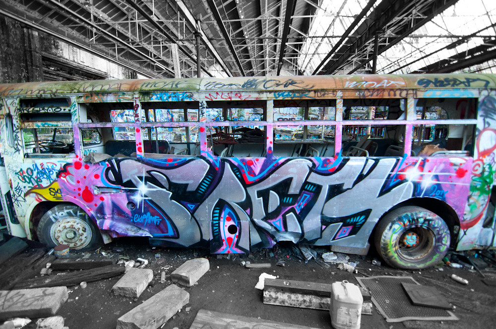 Autobús graffiti
