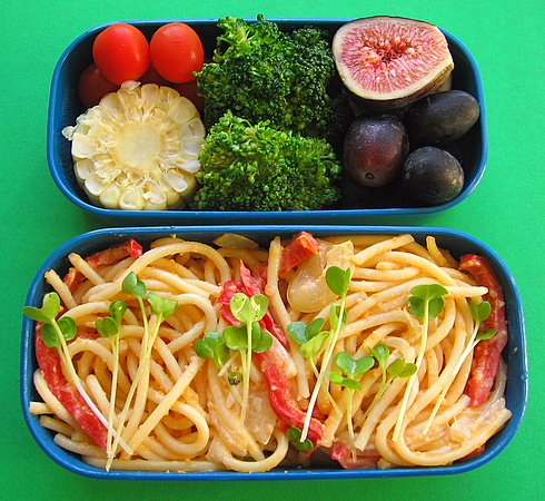 The Daily Tiffin: Tarako spaghetti lunches
