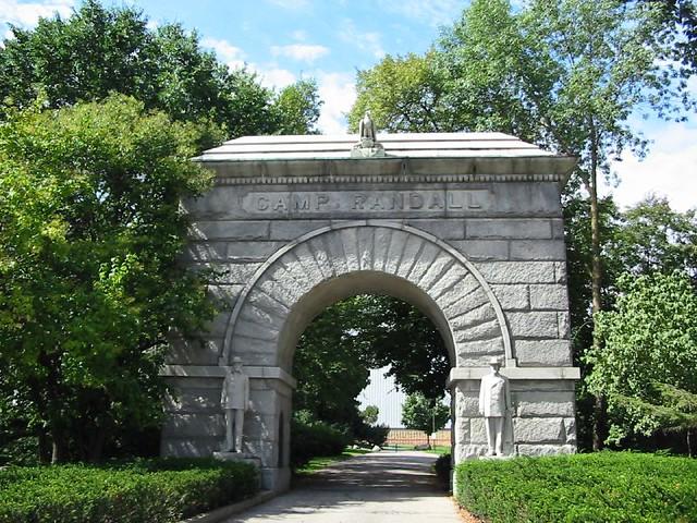 Camp Randall Gate