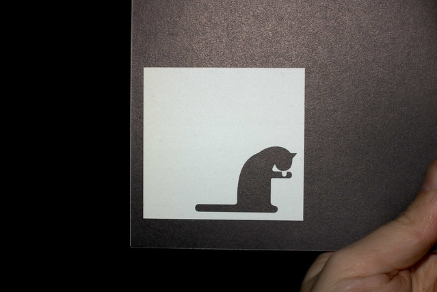 Otl Aicher Cat Lick