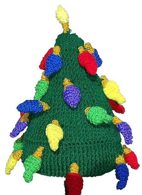 Free Crochet Christmas Tree Hat : Christmas Tree Hat - Crochet Pattern Flickr - Photo Sharing!