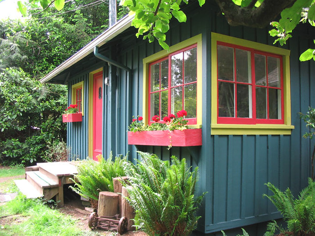 Board And Batten Cottage Exterior Flickr Photo Sharing