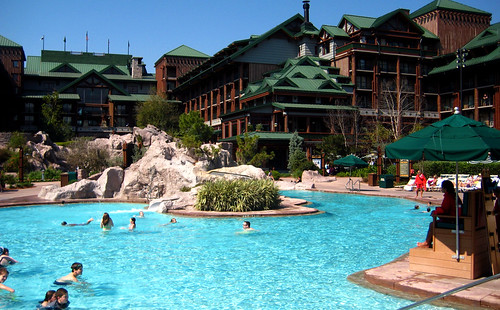 the wilderness lodge - pool