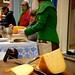 Broodje kaas op straat by racketeers
