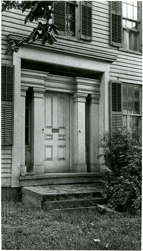 Doorway, Mesopotamia, Ohio.  1924.