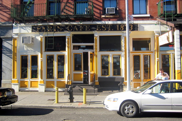 Nyc South Street Seaport Paris Cafe Flickr Photo Sharing