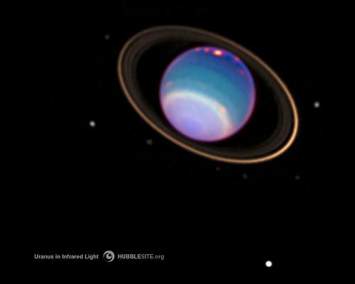 Bright Clouds on Uranus