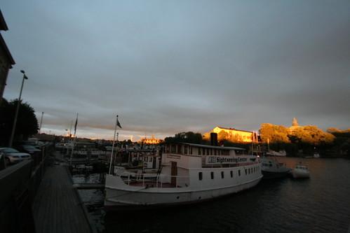 sunset sonnenuntergang sweden stockholm schweden sverige hafen 日落 海港 瑞典 斯德哥爾摩 港口