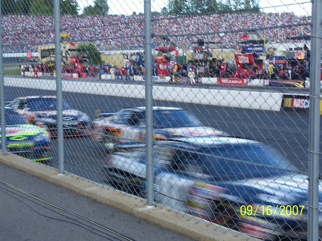 Clint Bowyer at 190 mph