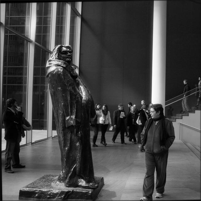 MOMA, Rodin's Balzac