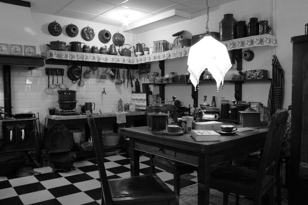 all sizes | elle wonen 1: keuken 1910 1920 | flickr - photo sharing!