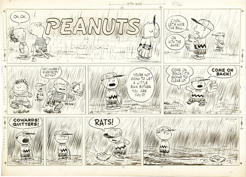 Peanuts strip by Schulz by schulzlover