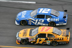 Ryan Newman & Matt Kenseth