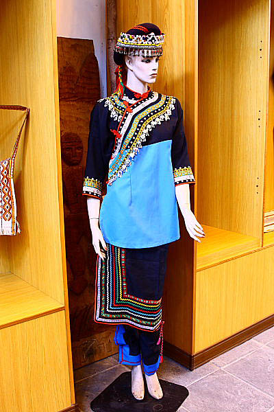 1U66布農族文物-傳統服飾