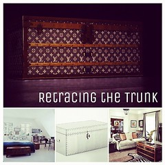 Retracing the Trunk #trunk #LouisVuitton #unda #furniture #wood #interior #design #home #decor #wood #livingroom #bedroom #retracingthetrunk