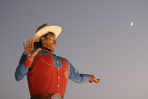Big Tex talked to me