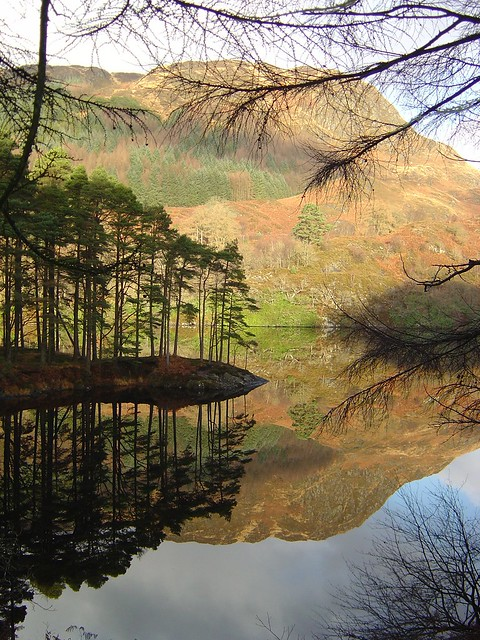 Reflections in Loch Trool