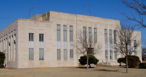 texas courthouses uscctxknox knoxcounty benjamin voelckerdixon 1930s 1935 countycourthouses tx northamerica unitedstates us
