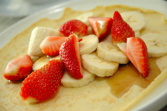Strawberry-banana Crepes | Flickr - Photo Sharing!