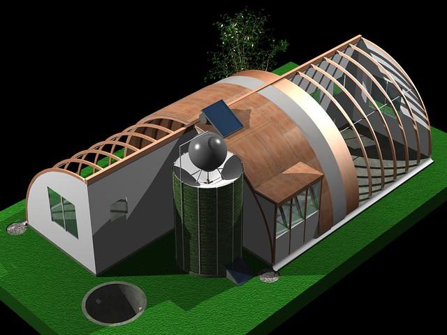 Casa ecol gica prefabricada flickr photo sharing - Casa ecologica prefabricada ...