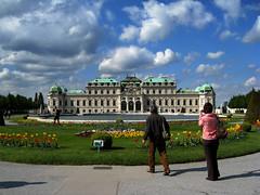 belvedere tourists