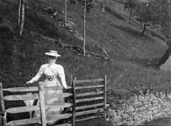 Madame Berger, Luchon, juillet 1895