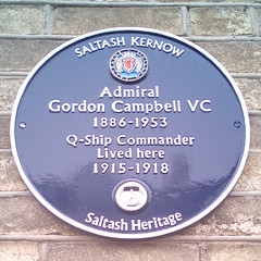 Photo of Gordon Campbell blue plaque