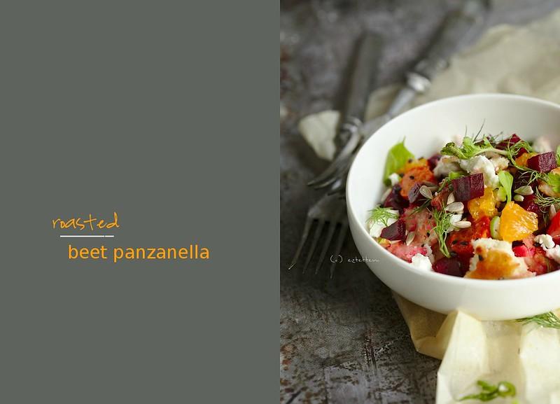 roasted beet panzanella