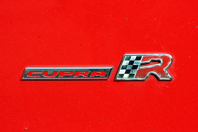 Cupra R Badge On Boot